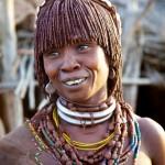 Portrait of a Hamar Woman