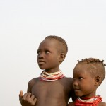 Karo Children, Omo Valley