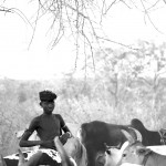 Oligidane with cattle - Mursi Tribe