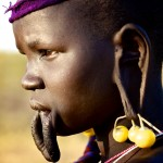 Mursi Girl - profile