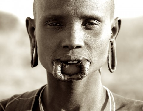 Omo Valley Tribes (Sepia Tones)