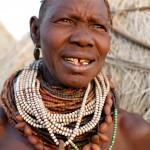 Older Nyangatom Woman - Omo Valley