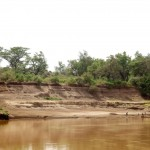 The banks of the Omo River