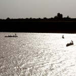 Dugout Canoes on the Omo River 2