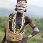 Painted Surma Girl 1