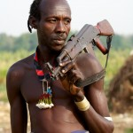 Karo Man with AK47