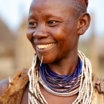 Portrait of a Karo woman 3