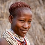 Portrait of Karo Woman 4, Omo Valley