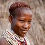 Portrait of Karo Woman 4, Omo Valley
