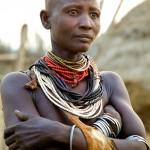 Portrait of a Karo woman 5