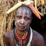 Portrait of a Karo Woman 6