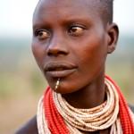 Portrait of a Karo woman 1
