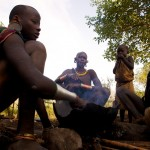 Surma Family, Omo Valley