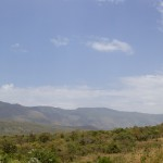 Surma woman in her landscape