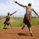 Surma women stick dancing 1