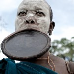 Surma Woman with large lip plate