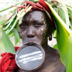 Surma woman with Lip Plate 2