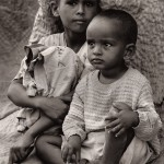 Siblings. Kotobia Camp, Ethiopia