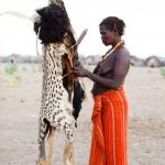 Dassanech Woman prepares for the Dimi Ceremony