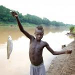 Zino with Fish, Karo Boy