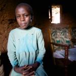 AIDS Orphan, Western Kenya.