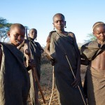Samburu Circumcision Boys, Northern Kenya.