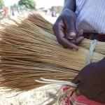Grass seller, Uganda