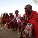 Maasai elders discussion