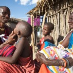 Maasai health monitor checks for trachoma