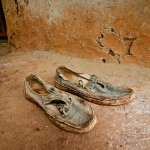 Maureen's shoes, Western Kenya