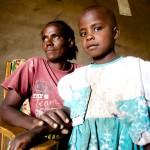 Naserian Ruben, & daughter, Likamba - Tanzania