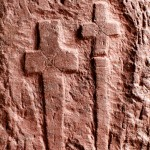 Rock Hewn Crosses, Lalibela, Ethiopia