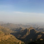 Simien Mountains, Ethiopia panorama PJD