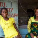 Fishermen's Girls 1, Kome Island Tanzania.