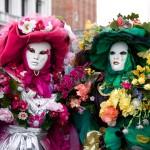 Venice Carnival Floral Dresses