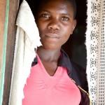Waitress, Nyakariro, Kome Island, Tanzania