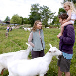 Liz Earle and Will Atkinson chat about the goats
