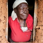 Grace Omondi, 89 year old woman,, Ulongi,