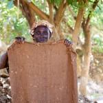Hessian Sacking for Ore Filtering, Migori, Kenya