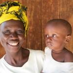 Mwajuma Yusuf and her child, Mabogini Recource Centre, Moshi
